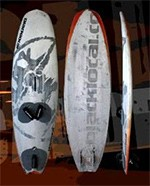 Une board innovante  wave >100L surfsailing