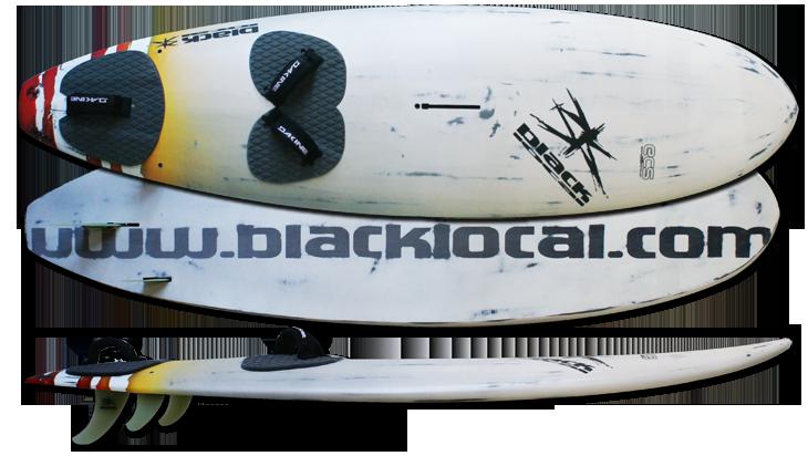 FREE WAVE 2017  Single ou thruster.  vitesse/ planning /side on shore entre 85 et 105 l  232x63  103l  double straps ar Single artwork :  Ass All